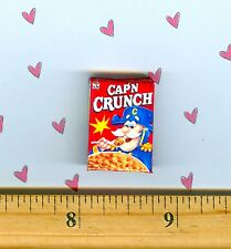 Dollhouse Miniature Size  Crunchy Cereal Box   #R C