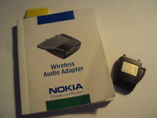 RETRO Nokia AD-5B  Wireless Audio Adapter (Add Bluetooth To Your Phone)+MANUAL