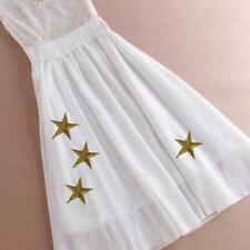 20pcs 3D Star DIY Applique Clothing Embroidery Patch Sticker Iron On Sew Cloth