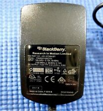 Blackberry USB Wall Charger - Black Travel - 5V 500mA ASY-07559-001 Genuine OEM
