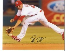 PETE  KOZMA   ST. LOUIS  CARDINALS     SIGNED AUTOGRAPHED 8X10  PHOTO  SS