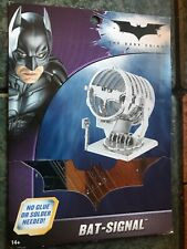 Metal Earth Bat-Signal 3D laser and BATwing