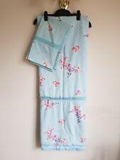 Duvet Cover Bedspread Light Blue Floral Or Polka Dots - Kingsize Presstud Fasten