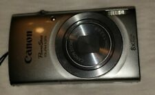 Canon PowerShot ELPH 135 Silver 16MP 8X Zoom Camera only