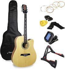 More details for martin smith premium acoustic guitar kit with guitar tuner, guitar bag, guitar s
