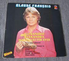 Claude François, Alexandrie Alexandra, LP 33 tours Fleche 67 215 Belgique SABAM