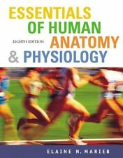 NEW - Essentials of Human Anatomy And Physiology by Marieb + IP CD-ROM