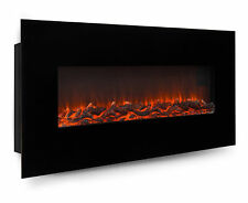 "Best Choice Products 50"" Electric Wall Mounted Fireplace Heater"