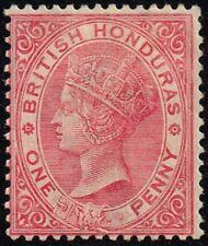British Honduras 1884 1d. rose, MH (SG#18)