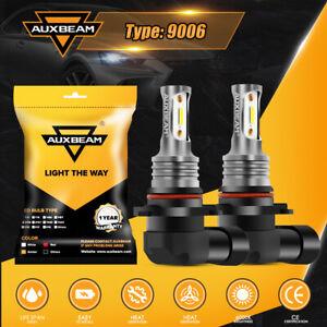 AUXBEAM 6000K 9006 HB4 20W LED Fog Driving Light Super Bright DRL Brake Bulb 2x