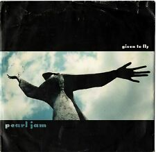 """PEARL JAM GIVEN TO FLY / OILATE / LEATHERMAN 45 RPM 7"""" 1997 NEVER PLAYED"""