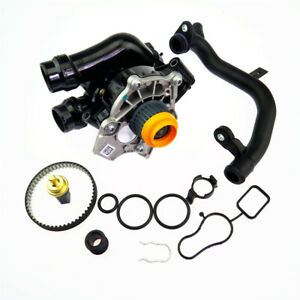 VW Golf Audi A3 A4 06H121026 EA888 Cooling Water Pump Belt Thermostat Washer kit