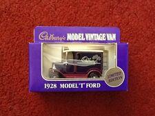 LLEDO Promoteurs De Cadbury's 1928 Model T Ford Van LTD ED certificat Jouet