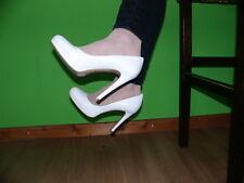 13) EVITA High Heels Stilettos in 39 Brautschuhe Echtleder NEU