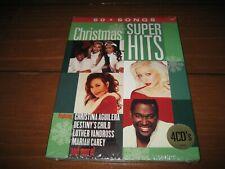 Christmas Super Hits [Box Set] CD  BRAND NEW SEALED! 60 Songs
