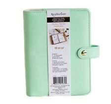 NEW Recollections 40 pc Personal Planner Binder A6 - Mint Gold