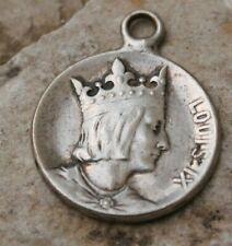ancien pendentif médaille saint louis