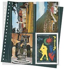 Lindner Klarsichthüllen für Postkarten, 272x296mm, 18-Ring-Loch 10er Pack (829P)