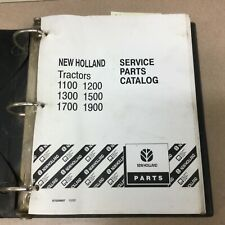 New Holland 1100 1200 1300 1500 1700 1900 Tractor Parts Catalog Book Manual List