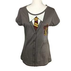 Harry Potter Womens Juniors 2XL (19) Caped Gryffindor Graphic Print Tee Shirt.Z4