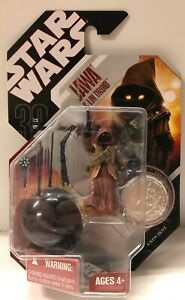 JAWA and LIN DROID 30th Anniversary Collection Star Wars Figure No. 19 w/ Coin