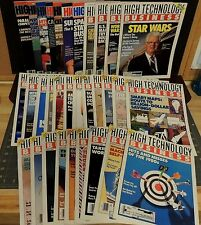 High Technology + High Technology Business Magazine 3 year run extremely rare