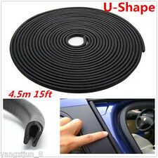 4.5m Rubber Moulding Car Door Edge Seal Strip Pinchweld Trim Waterproof Sealing