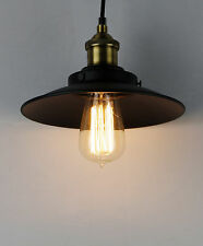 Retro Industrial Style Pendant Light with Metal Umbrella Shade IT207