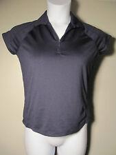 M Ashworth Performance Mesh Stretch Golf Polo Shirt Blue Ladies Top