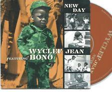 WYCLEF JEAN & BONO New Day 2 TRACK  CARDslv CD SINGLE U2 RELATED