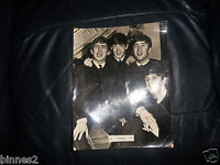 THE BEATLES  OFFICIAL 1963 BREL EXTRA LARGE  Photograph CS134L FULL GLOSS