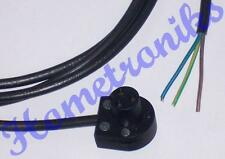3 PIN MAINS LEAD FOR QUAD 33, 303, FM3 - 2 METRES BLACK