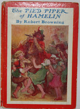 The Pied Piper of Hamelin - Robert Browning Collectible childrens book hardcover