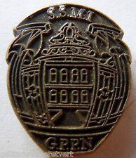 INSIGNE PINS POLICE France RECO SSMI GPPN  authentique fab. DESTREES BRY 94
