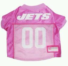 NFL NEW YORK JETS PET PINK JERSEY. SZ M