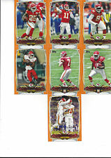 2014 Topps Factory Orange #64/96 Aaron Murray RC Kansas City Chiefs # 414