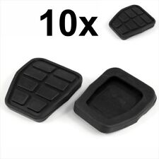 10x Negro de goma anti-deslizamiento Embrague Pedal De Freno Almohadilla Tapa VW Golf 2 3 AUDI 321721173
