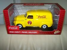 2005- JOHNNY WHITE LIGHTNING- COCA COLA- 1948 CHEVY PANEL DELIVERY TRUCK- 1/18