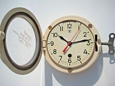 Boat Ship Watch Submarine Cabin Wall Clock 12 Russian Soviet Navy Military USSR