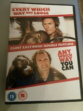 ANY WHICH WAY BUT LOOSE / ANY WHICH WAY YOU CAN DVD 2 FILMS CLINT EASTWOOD