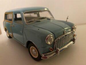 AUSTIN MINI COUNTRYMAN break bleu 1/18 KYOSHO 08191B voiture miniature collectio