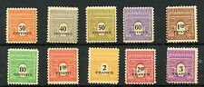 STAMP / TIMBRE FRANCE NEUF N° 702/711 **  type A R C de TRIOMPHE