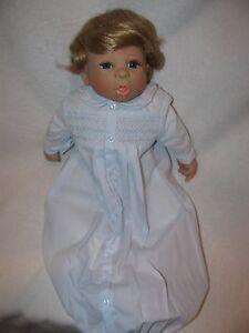 "19"" Baby Boy Doll Josh By Doll Artist Anna Carter"
