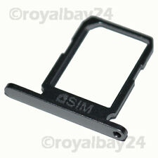 Samsung GALAXY s6 NANO SIM-SUPPORTO GRIGIO NERO SLITTA slot TRAY HOLDER g920f