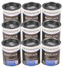 Acrylic Color Paint 6,75 Liter Anthracite Gray Matte Metal Wood Varnish Top Coat
