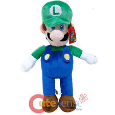 Nintendo Super Mario Luigi Plush Doll Cuddle Pillow Jumbo  Soft Stuffed Toy