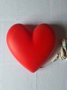 IKEA Kids Wall Mounted LOVE HEART Red Night Light - Lamp for Bedrooms