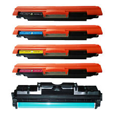 4 Toner Cartridge CE314A Drum For HP CE310A CE311A CE312A CE313A Pro CP1025nw