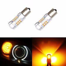 JDM ASTAR 1156 BA15S Amber PX SMD High Power LED Back Up Turn Signal Light Bulbs
