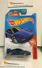 '90 Acura NSX #103 * Dark Blue * Hot Wheels 2016 USA Card * L14